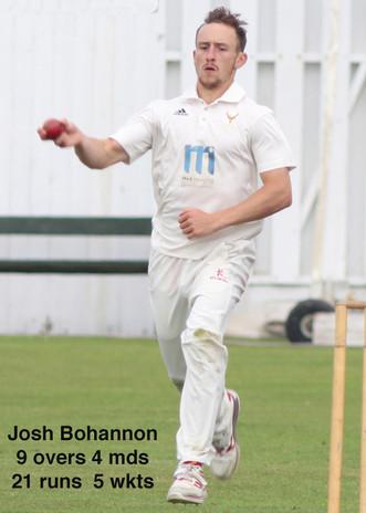 1st v Lytham (A) Match report 29-7-17