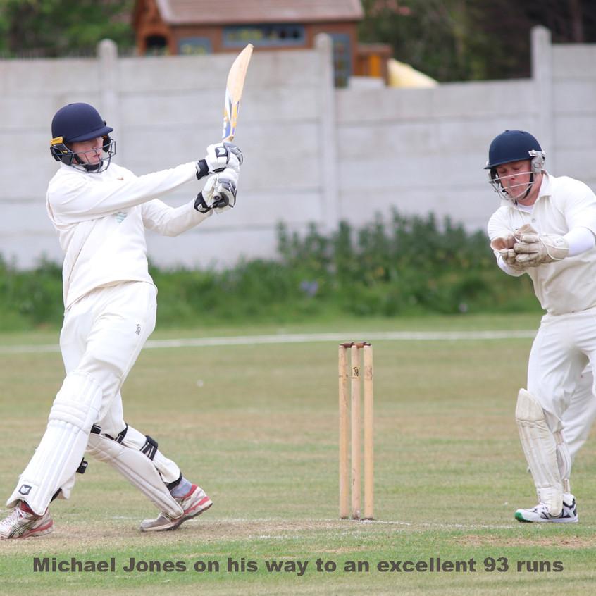 Michael Jones 93 runs