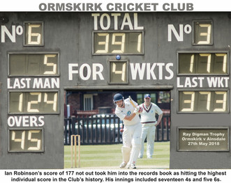 Ray Digman Trophy - Ormskirk v Ainsdale