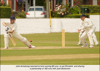 Ormkirk v Formby Match report 8-7-17