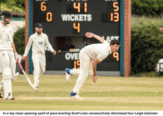 LEIGH v ORMSKIRK Match report 9/6/18