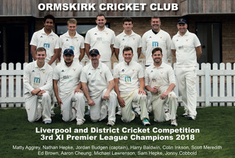 OCC 3rd XI - Champions for the 2nd Consecutive year!