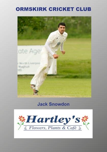 Jack Snowdon Sponsor