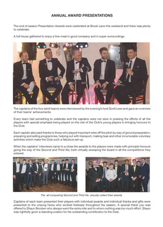 Annual Awards 2018