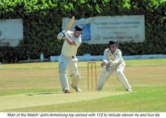 Rainhill v Ormskirk Match report 30/6/18