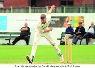 Lancashire Knockout Cup Semi Final Ormskirk v Darwen 18-8-18
