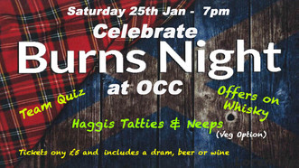 Burns Night at OCC