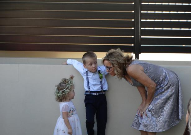 Explaining the ceremony