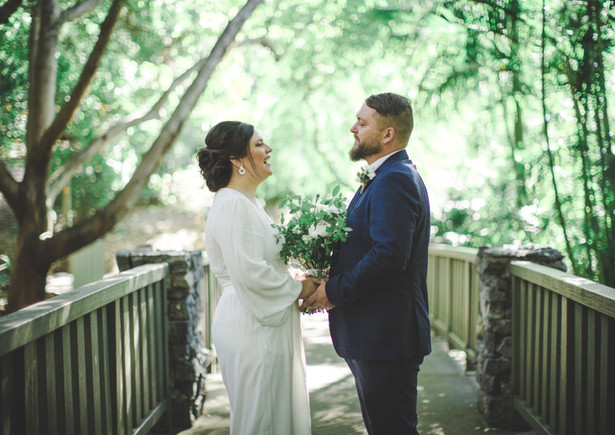 Candice & Jarred at Mt Cootha Gardens