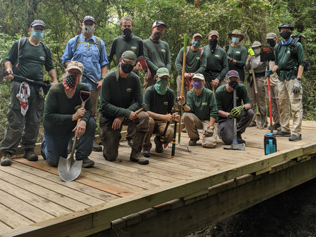 The Pandemic, the Nature Trail, and the Volunteers that Kept it Open