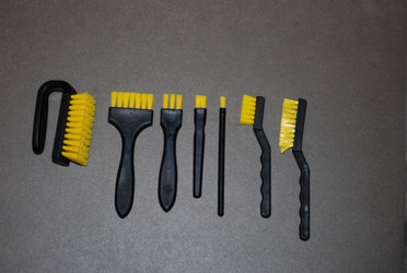 Flat Hard Brushes