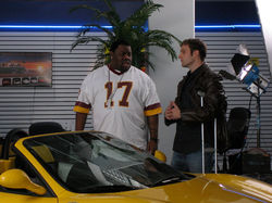w/Biz Markie, 'Eastern Motors' Ads