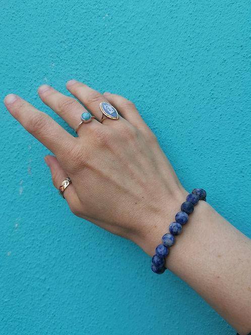 Blue Jasper Bracelet
