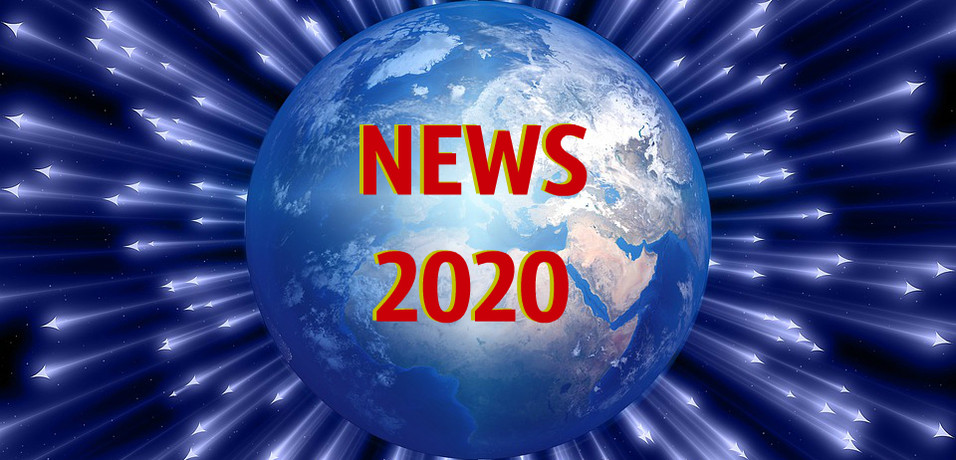 ALL MY NEWS FOR THE YEAR 2020