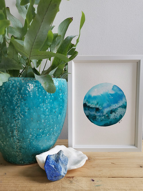 Coral Swell - Original Painting
