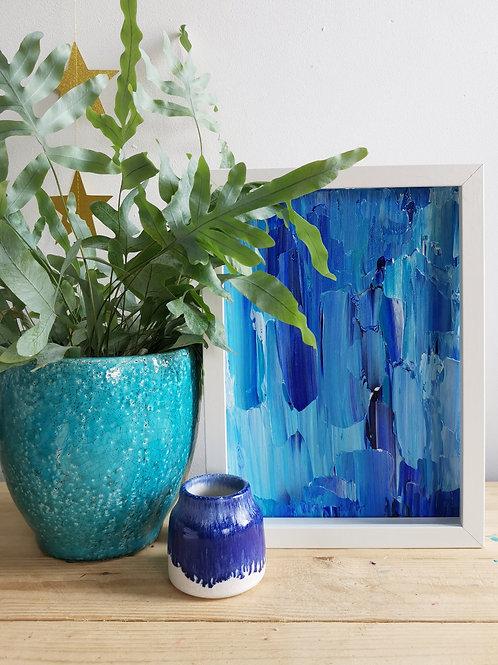 Blue Hues - Acrylic Seascape Original Painting