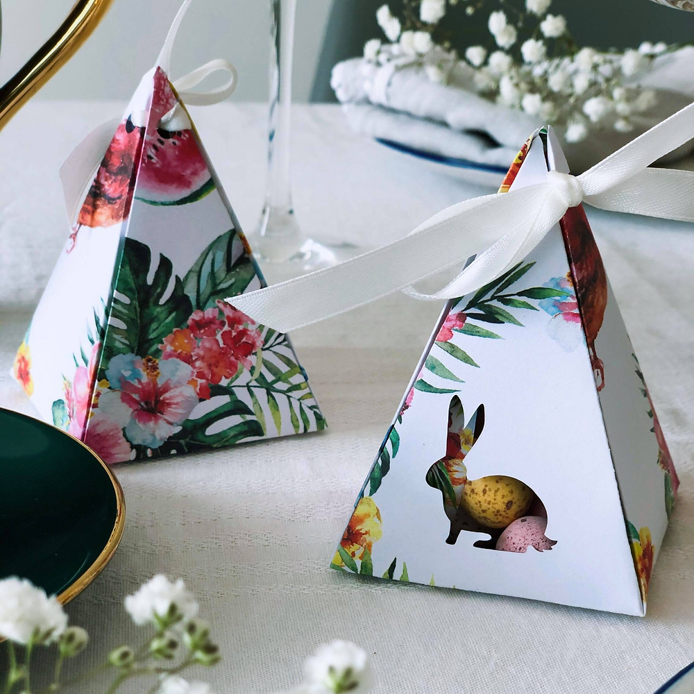 PaperFolds St Leonards Easter Triangle Boxes