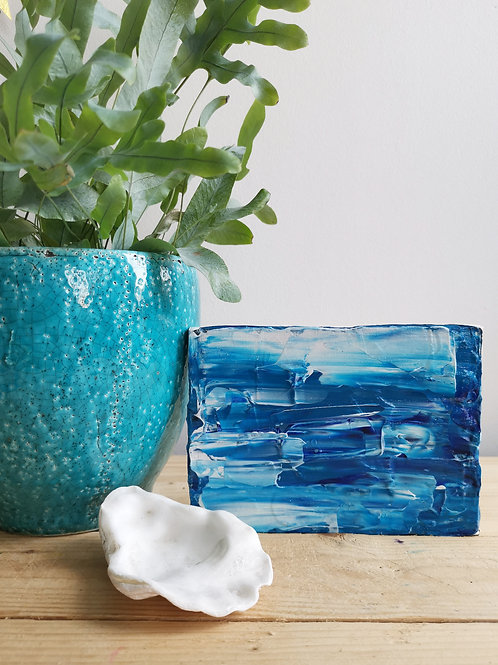 Tiny Surf - Acrylic Seascape Original Painting