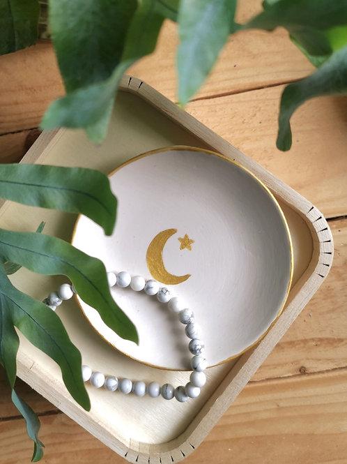 Moon and Stars trinket dish