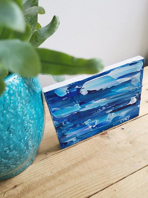 Mini Surf - Acrylic Seascape Original Painting