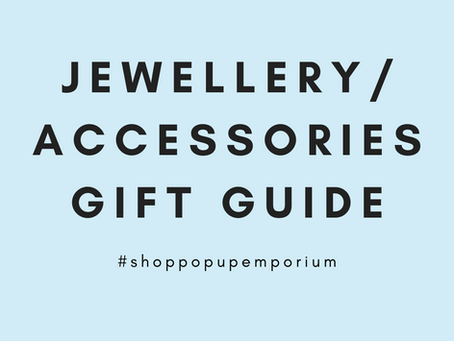 Jewellery and Accessories Gift Guide