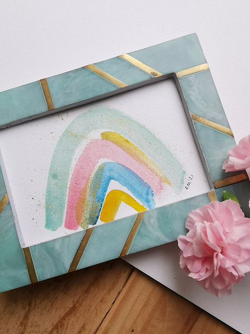 Pastel Rainbow - Original Painting