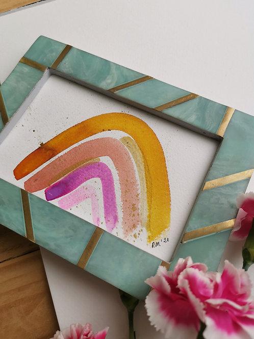 Sienna Rainbow - Original Painting