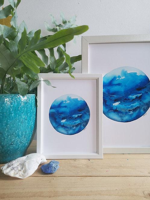 Calming Ocean's - Vitamin Sea Print