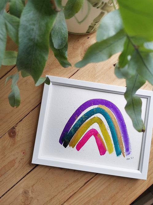 Ameythst Rainbow - Original Painting