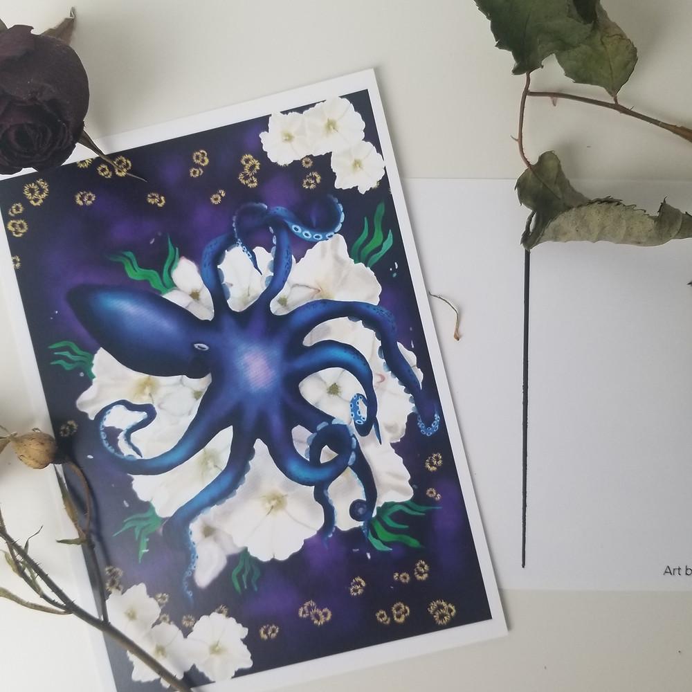Cynthia Sipes Design A6 Postcard