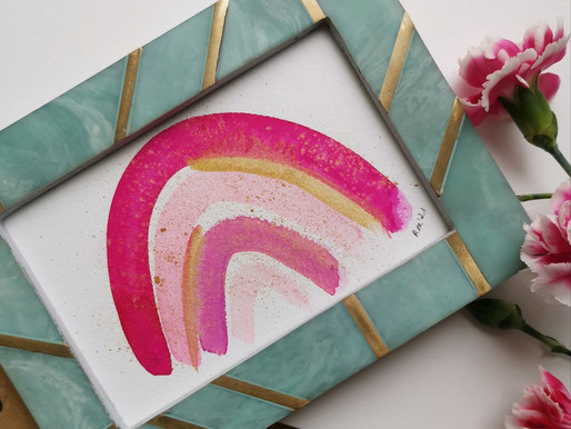 NEW HOMEWARE AND RAINBOW PAINTINGS!