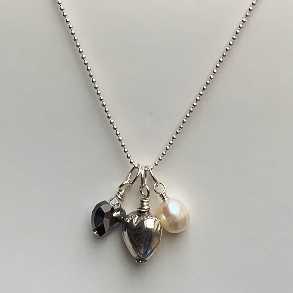 Love Your Rocks Necklace.