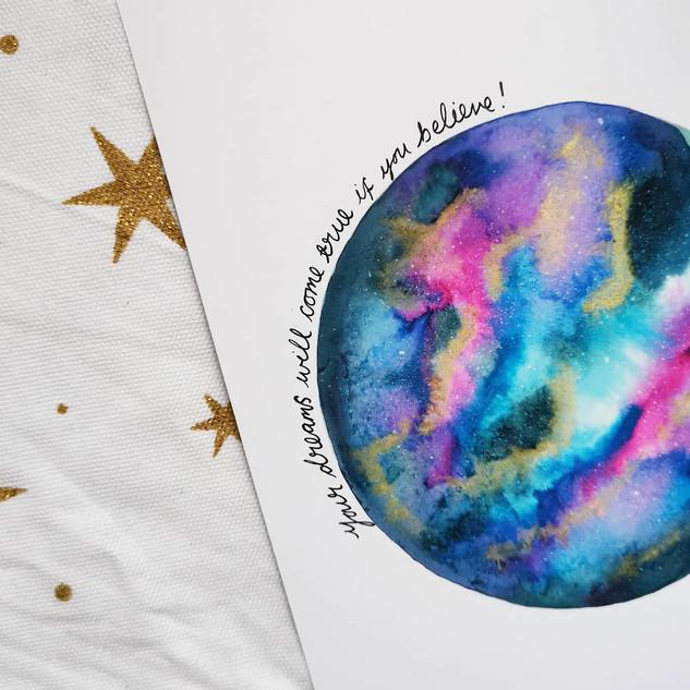 Personalised Print © Rachel Mammone Paints