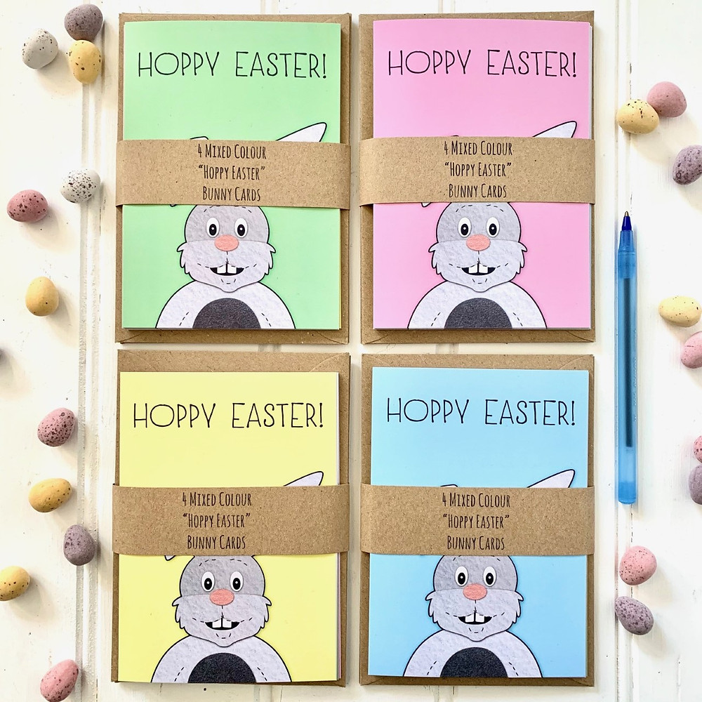 Cherry Pie Lane Hoppy Easter cards