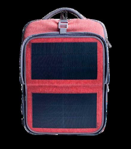 Mochila Solar Hanegy Bolsa de Viagem Business com placa solar flexível de 9W