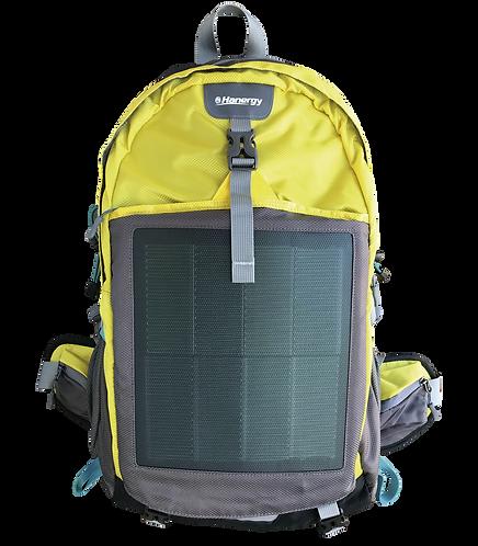 Mochila Solar Hanergy Hiking com 2 painéis solares flexíveis de 10.6W