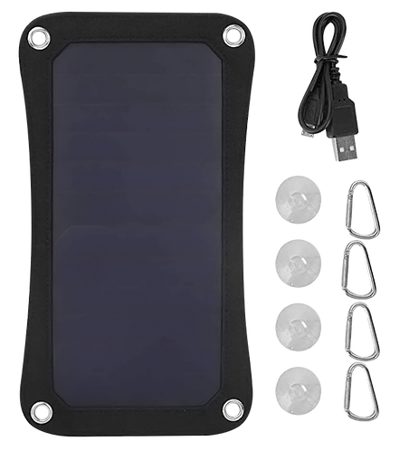 Kit Placa Solar portátil PV Light SP- 6.5W