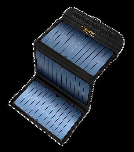 Case PV LIght E-209 com 3 placas solares de 20W com 2 entradas USB