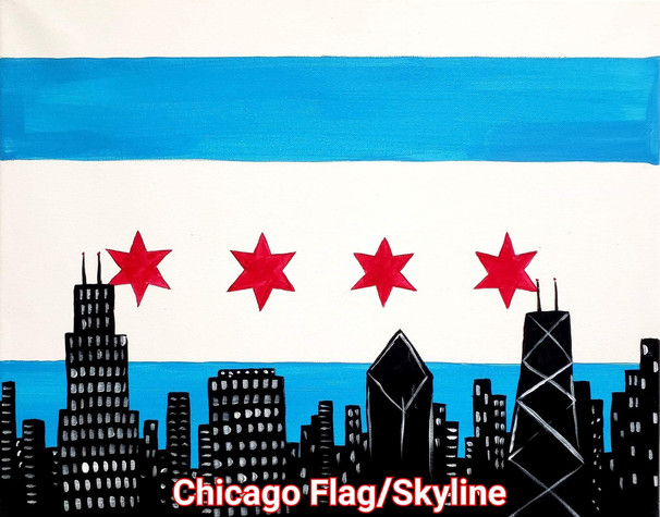 Chicago Flag and Skyline.jpg