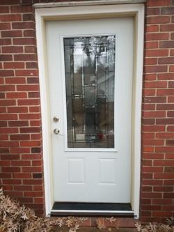 Door replacement 1930s home