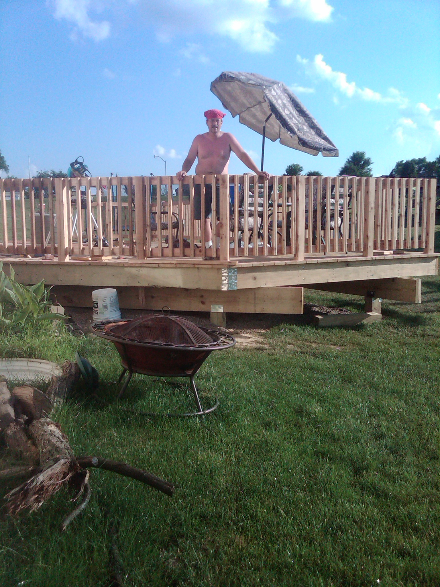 Decks/Railings Built