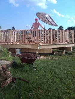 Decks/Railings Built