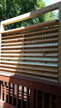 Windproof Deck Blind