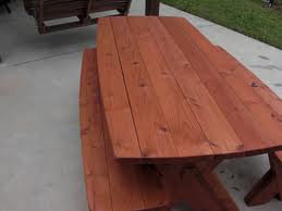 Picnic Table Kit Assembled