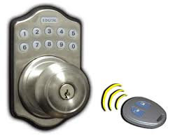Lock Set Remote Automatic Installed