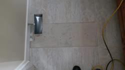 Bath tile replacement
