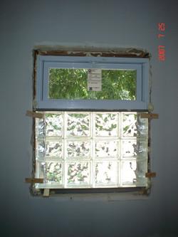 Glass Block Window Upgrade