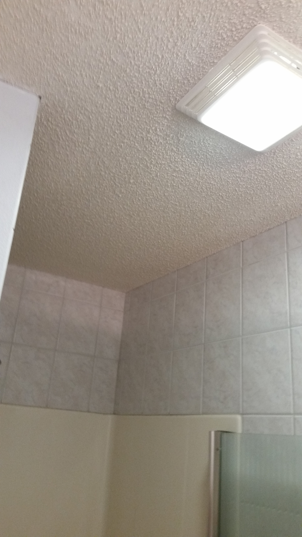 Bath Ceiling Texture