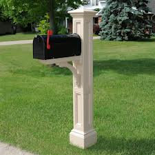 Mailbox on Post Installed