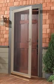Storm Door Installed